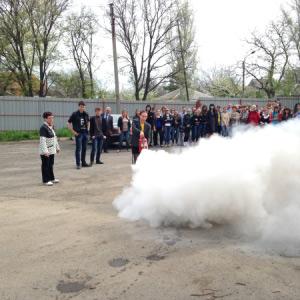 Учебная эвакуация – отработка действий при пожаре в Музыкальном училище г.Шахты
