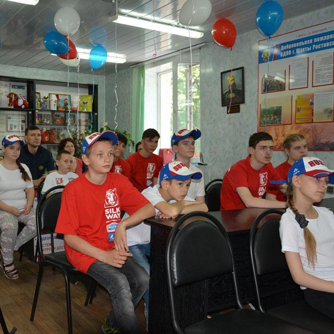 Защита жизни детей – общая миссия ВДПО г. Шахты и РЦ «Добродея»!