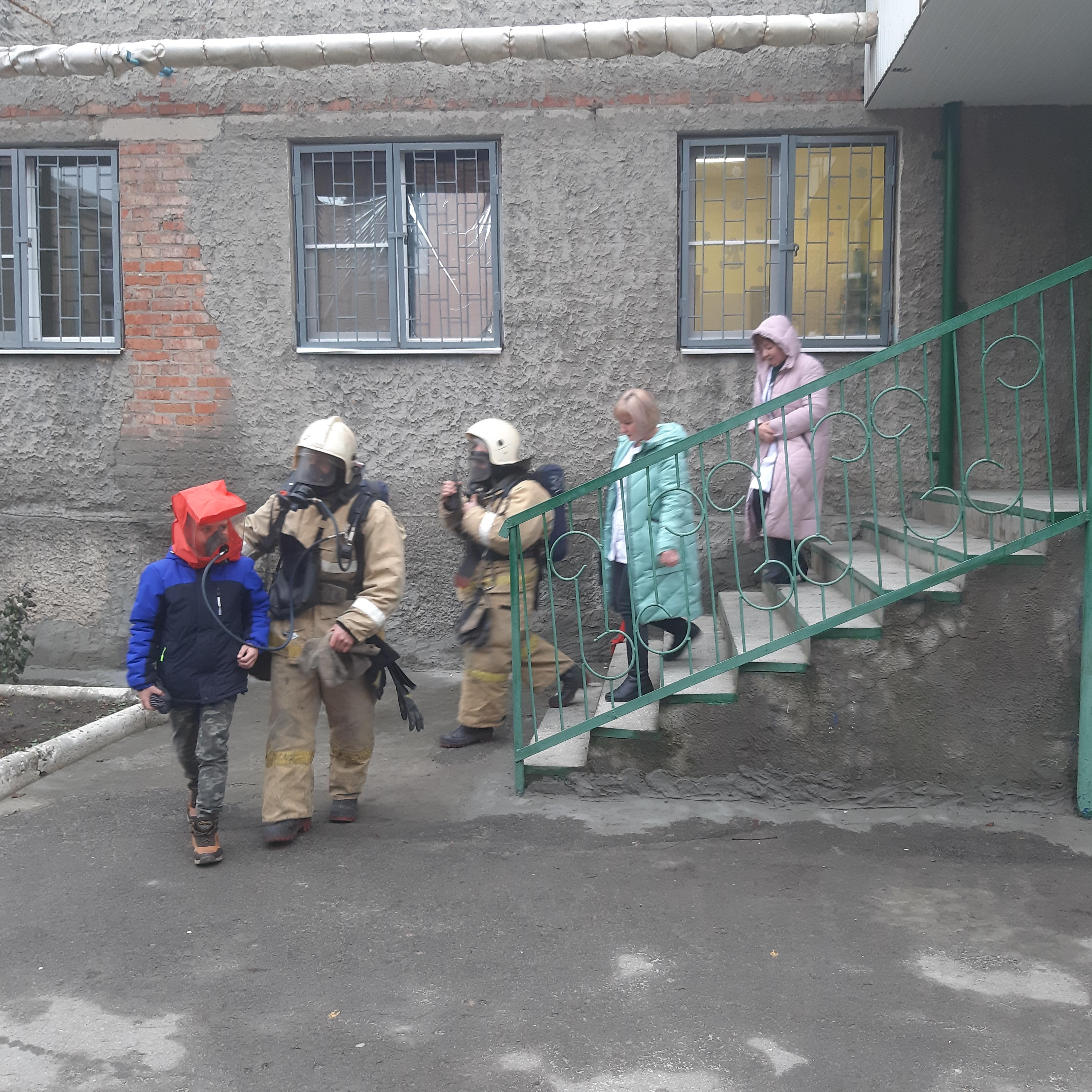 В Шахтинском центре помощи детям №1 проведена эвакуация