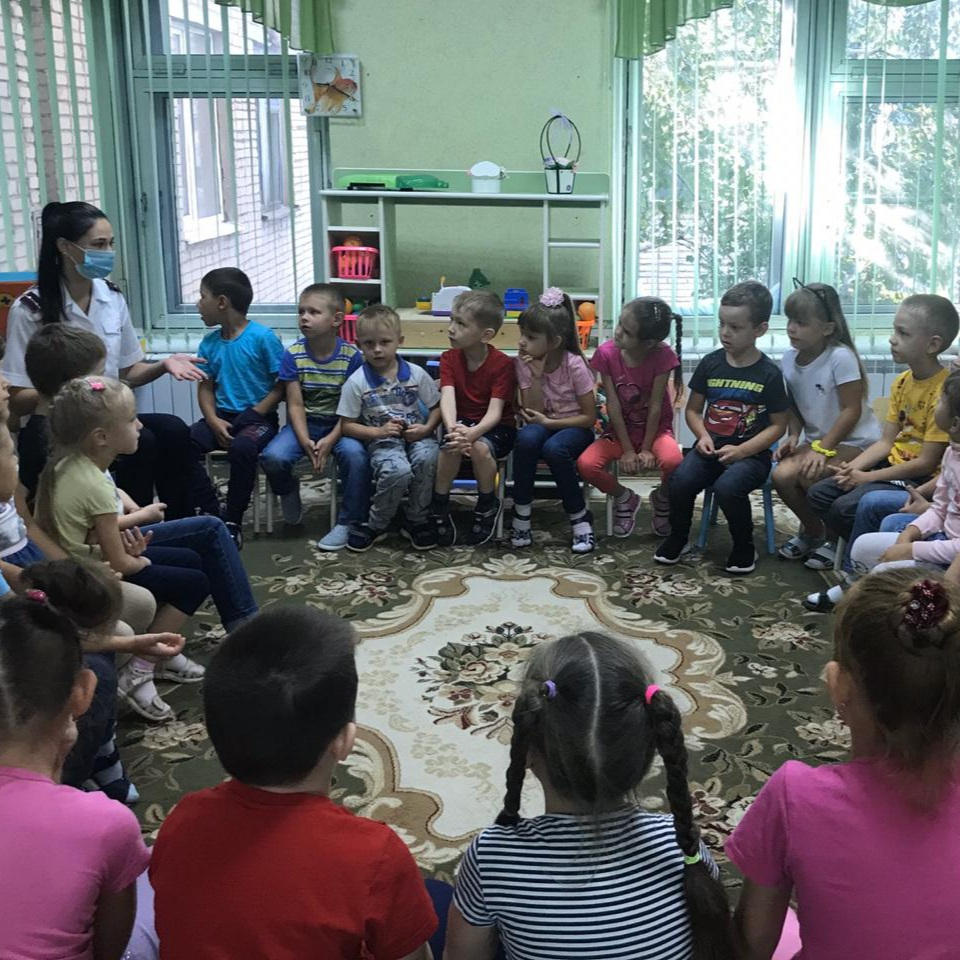 Профилактическая беседа в МБДОУ детских садах № 9 и № 77